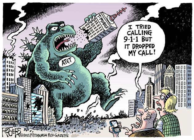 AT&T Godzilla