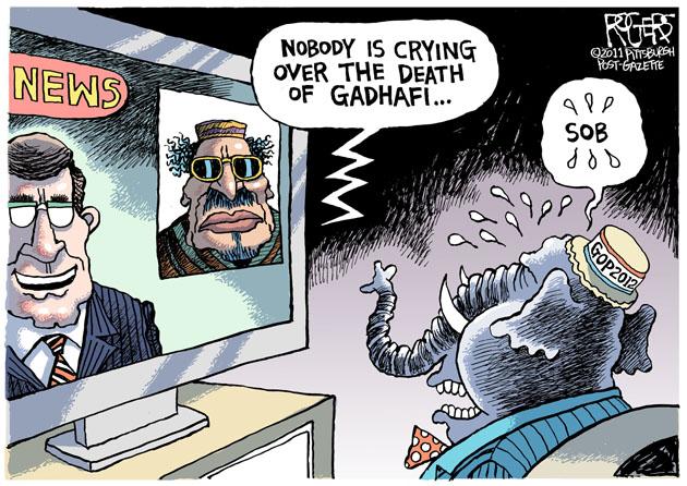 Death Of Gadhafi