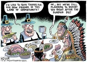 Thanksgiving Deportation