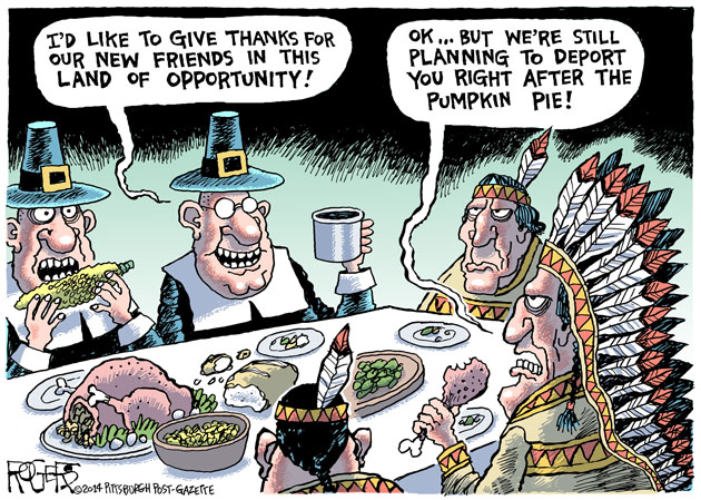 Thanksgiving Deportation