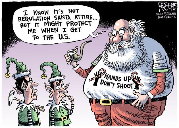 Hands Up Santa