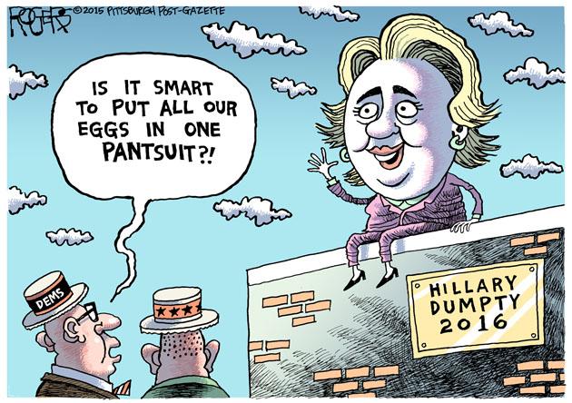 Hillary Dumpty