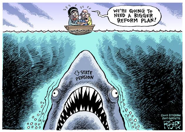 Pension Shark