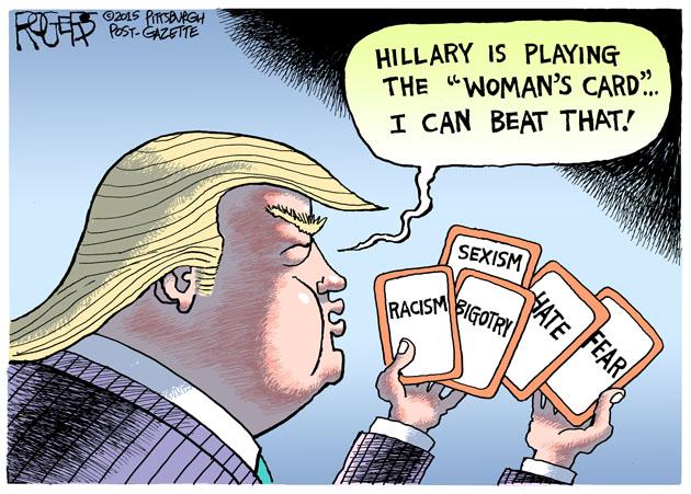 Rob Rogers | Trump Cards