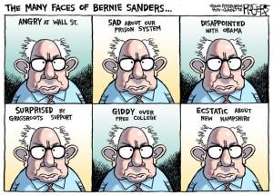 Bernie's Face