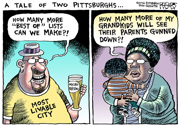 Two Pittsburghs