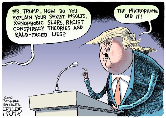 Trump Microphone