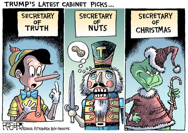 Cabinet Picks