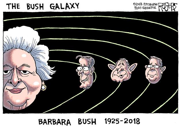 Rob Rogers George H W Bush